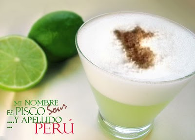 pisco sour peruano